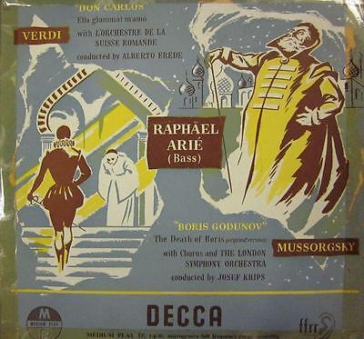 "Verdi/Krips(10"" Vinyl)Don Carlos-UK-LW 5079-Decca-VG/Ex"
