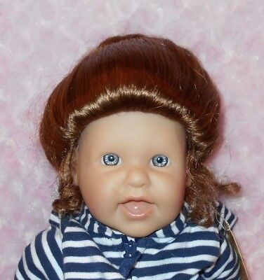 NEW DOLL WIG Style GIBSON Size 12-13 Blonde Modacrylic By Kemper Originals
