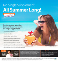 o Single Supplement - All Summer Long Cuba Vacations