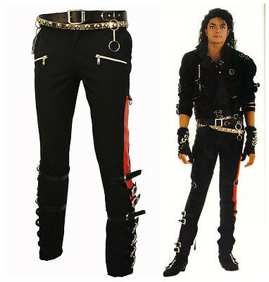 MUST HAVE MICHAEL JACKSON MJ  BAD TROUSERS COSTUME FOR SUPER GIFT XMAS - Mj Bad Costume