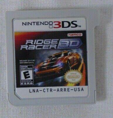 Nintendo 3 DS Ridge Racer 3D Cart Only