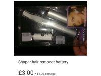 New in box shavers for facial hair, bikini line, eyebrows, etc