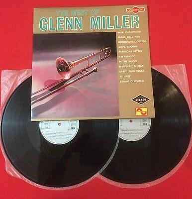 BEST OF GLEEN MILLER BLUE CHAMPAGNE BUGLE MOONLIGHT 32508 1975 2X VINYL 33T
