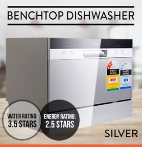 Small Table Top Countertop Stand Alone Dishwasher Sydney City Inner ...