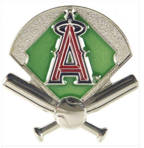 Los Angeles Angels Mlb Baseball Field & Bat Design Sports Pin Licensed By Aminco
