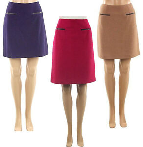 marks spencer womens wool mix fully lined m s skirts