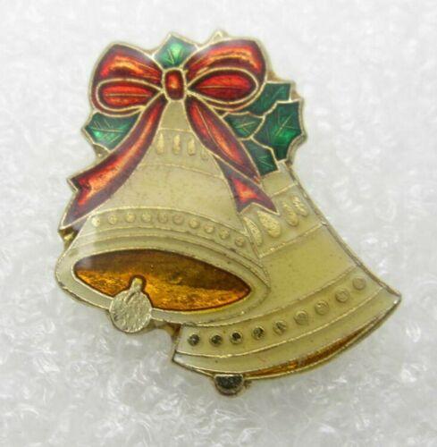 Vintage 1979 Jingle Bell Christmas Lapel Pin (A310)