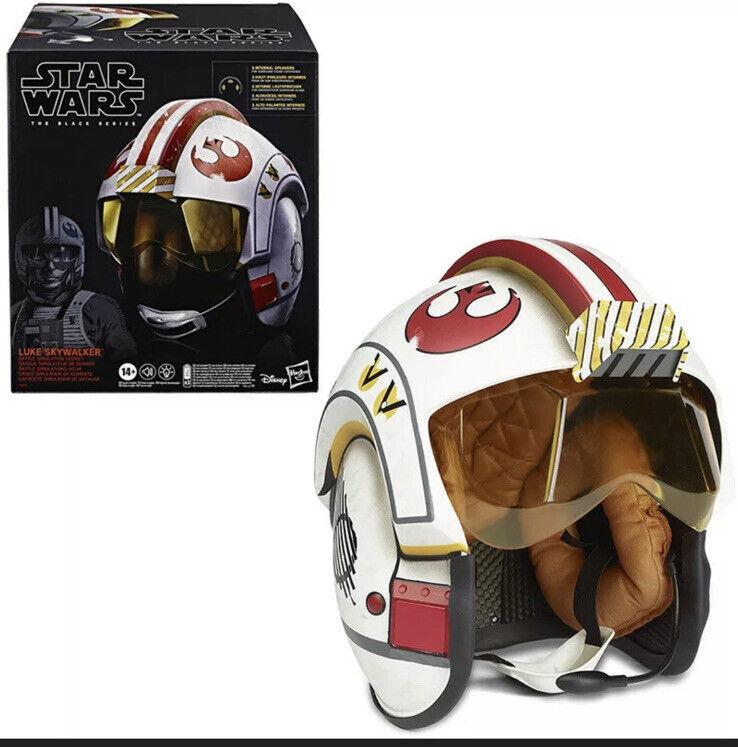 Star Wars The Black Series LUKE SKYWALKER Battle Simulation Helmet Premium 1:1