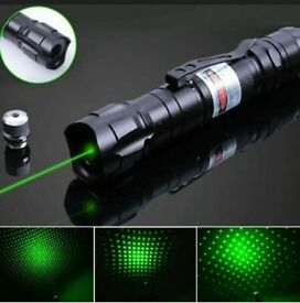Military 1MW Green Laser Pointer Pen Lamp 532nm 5 miles