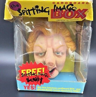 Spitting Image Bendy Finger Puppet Margaret Thatcher in orig box Prime Minister