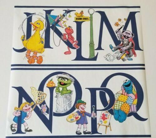 Sesame Street Alphabet Wallpaper by Child