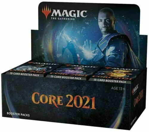 English Magic The Gathering Core Set 2021 Booster Box 36ct Sealed!!
