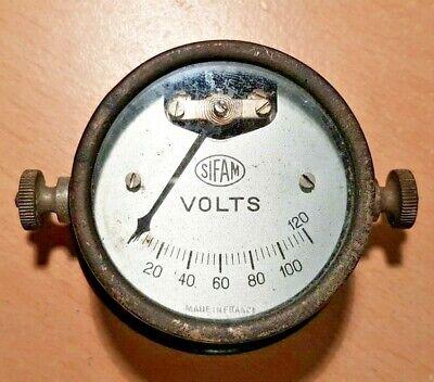 Sifam Volt Meter Rare Vintage Car Gauge / Tester
