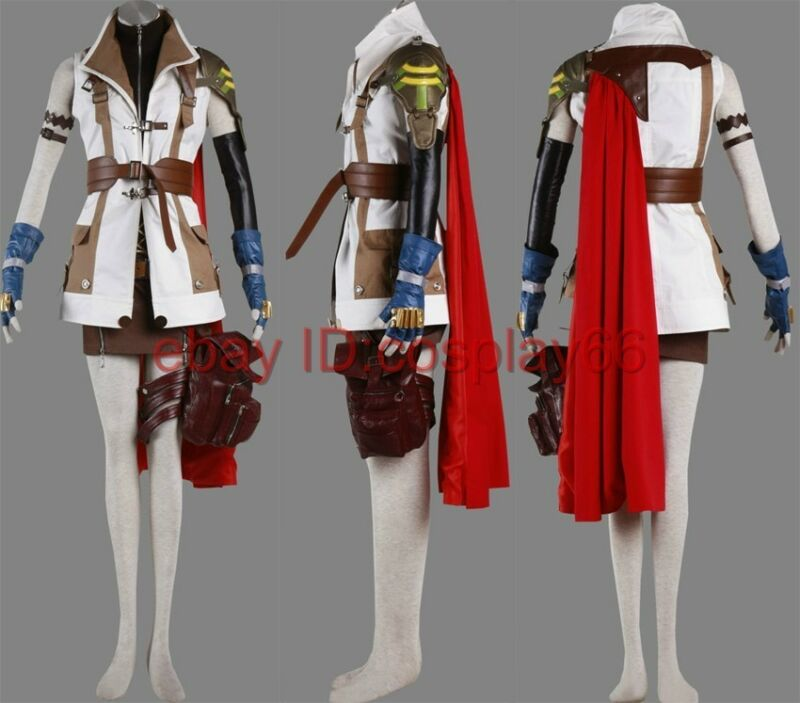 "Final Fantasy XIII 13 ""Lightning"" Cosplay Costume Custo"