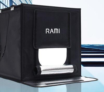 RAMI Mini LED Photo Box Portable Light Box Mini Studio Big Size RM-PB6060