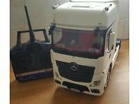 Tamiya rc mercedes actros truck