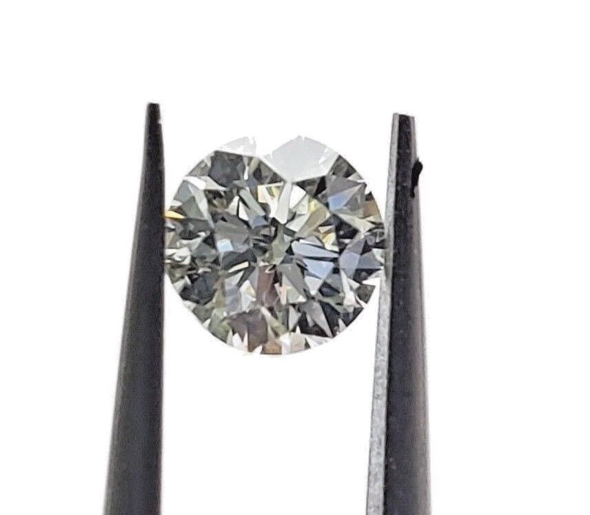0.43 Carat GIA Certified Round Brilliant Loose Diamond L Color SI1 Clarity