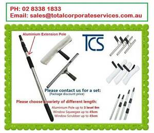 Window Cleaning Tool Pole Squeegee Brush Backpack Cart Mop Sign Alexandria Inner Sydney Preview