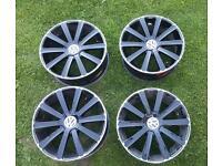 4 x YSM 441 18inch vw alloy wheels