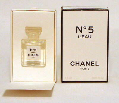 CHANEL Nº 5 L' EAU 1,5 ml. 0.05 fl. oz. NEW Eau de toilette Mini micro perfume