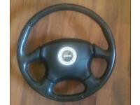 Subaru momo steering wheel