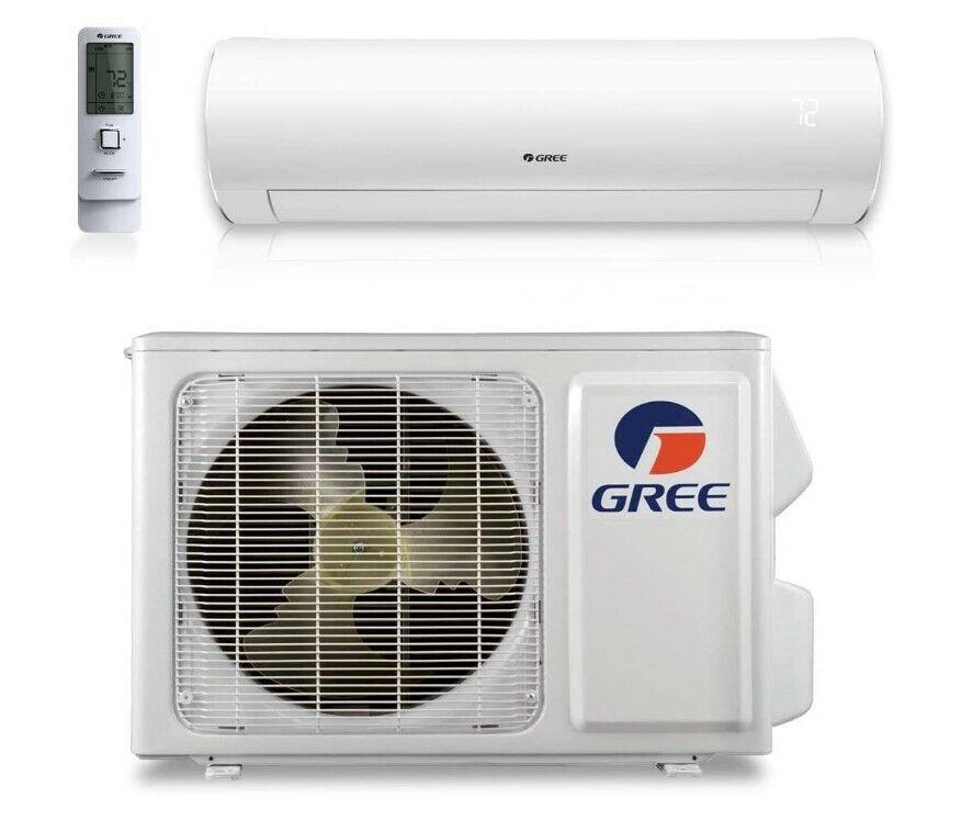 Gree SAP09HP230V1A Mini-Split Heat & Cool AC Unit 9000+ Btu