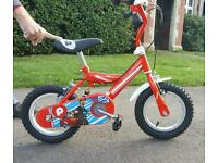 Postman pat bike with stabilisers