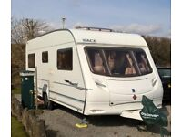 ACE AWARD NORTHSTAR 2006 CARAVAN 4 BERTH WITH FIXED BED. LOTS OF EXTRAS