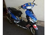 10 plate 50cc scooter moped