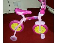 Peppa pig toddler bike pretty much brand new never been outside