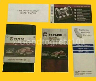 2011 Dodge Ram 1500 2500 3500 Trucks User Guide Owners Manual Navigation Kit 11
