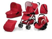 Hauck Condor All-in-One Travel System - Trio Red