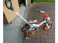 Boys bike - Avigo 10 inch steering handle bike