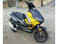 Benelli 50 cc with mot runs and works great ready to drive away great moped scooter l