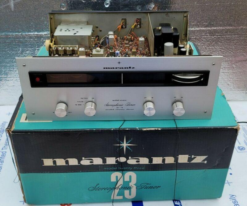 Vintage Marantz Model 23 Stereo AM FM Stereo Tuner Read!