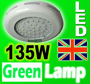 135W-LED-UFO-GREEN-LAMP-Grow-panel-better-than-90W-Light-Board-3W-LED-Flowering