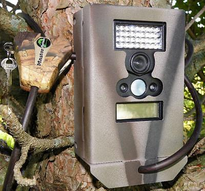 Wildgame Innovation Micro 4,6,8 Red Trail Camera Security Box Bear Box