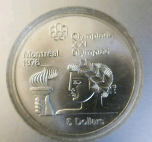 $5 Sterling Silver Olympic coin