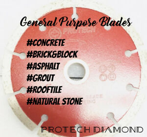 "12"" General Purpose Segmented Protech Diamond Blade"