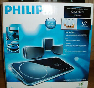 PHILIPS DVD HOME THEATRE WITH AMBISOUND – NEW IN BOX - $100