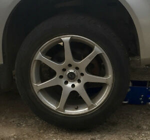4 rims and tires fit,cobalt,pursuit,G5