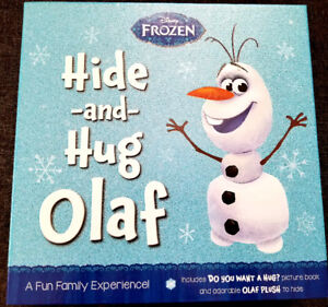 $23.50 BUNDLE: DISNEY FROZEN - HIDE AND HUG OLAF + RUBBER DUCKS