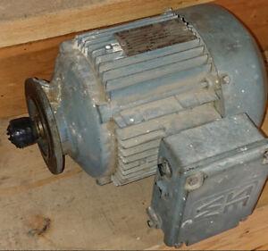 Sew-Eurodrive 3PH Motor, 1.5HP, 330/575V, 60Hz