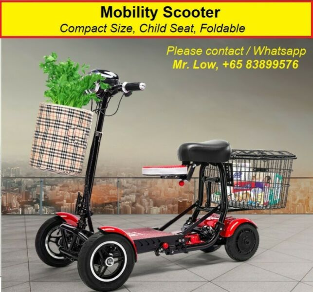 Mobility Scooter PMA (Variety Seat Design)