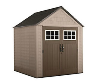 Rubbermaid Big Max 7 ft. x 7 ft. Shed
