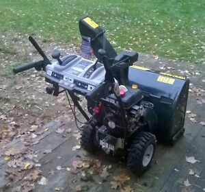 "Yardman 22"" 208cc snowblower Peterborough Peterborough Area image 2"