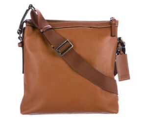 Genuine TUMI Leather Messenger Bag!