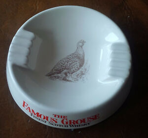 The Famous Grouse Finest Scotch Whisky - Ceramic Ashtray