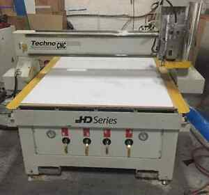 2013 Techno CNC 4896HD Router
