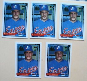 Lot of Five(5) Matt Stairs - Topps Rookie Cards
